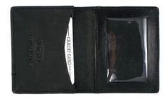 New Leather Business Card Holder Expandable Wallet Money Card Case Black Mens by Marshal. $9.55. Save 55% Off!