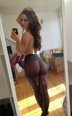 My White Hot Pantyhose And 71