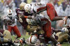Sean Taylor and The U destroying FSU in the 2004 Orange Bowl!