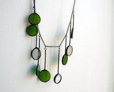 Hey, I found this really awesome Etsy listing at https://www.etsy.com/listing/130495093/statement-green-gray-handcrafted
