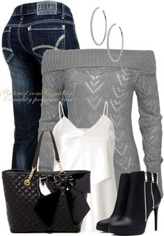 Casual and Cozy Fall Outfits Polyvore Combination 2014 - Be Modish - Be Modish