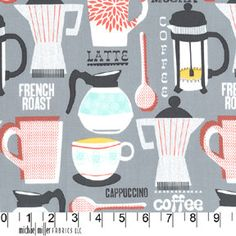 Michael Miller French Roast Fabric.