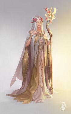 ArtStation – Virgo Goddess, John Dimayuga – Art Drawing Tips Dnd Characters, Fantasy Characters, Female Characters, Fantasy Character Design, Character Design Inspiration, Character Art, Character Concept, Elfa, Virgo Art