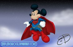 Mouse of Steel by RCBrock.deviantart.com on @deviantART