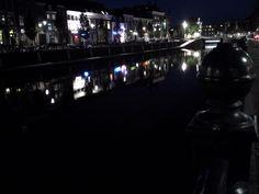 Breda City Centre at night