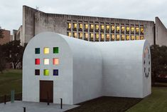 The late artist Ellsworth Kelly's first and last work of architecture, the Austin Chapel, has been completed by the Blanton Museum of Art in Austin, Texas.