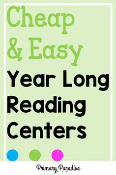 Hands on, diy reading and writing centers that you can use all year! These centers are easy to differentiate, fun for students, and meaningful as well! Guided Reading Organization, Guided Reading Activities, Teacher Organization, Kindergarten Reading, Teacher Hacks, Teaching Reading, Teaching Ideas, Learning, Word Work Centers
