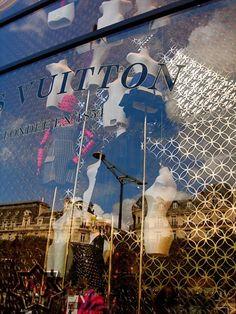Vuitton display window