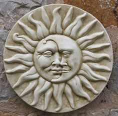 Have a look at this Sun and Moon Wall Plaque page from the Sun & Moon Wall Plaques department at Marble Inspiration