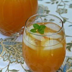 "Mint Julep Iced Tea | ""Excellent! I made this exactly as written, and it was SO refreshing! I used Lipton® original brisk tea bags."""