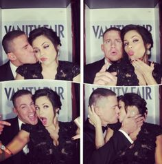 "38 Times Celebrity Couples Gave Us Intense Relationship Goals : When Channing Tatum and Jenna Dewan-Tatum produced the most adorable photobooth pictures of all time. ""I was smitten from the start, I really was. Jenna Dewan, Channing Tatum, Will Smith, Jessi J, Photo Couple, Couple Pics, Celebrity Gallery, Famous Couples, Hollywood"