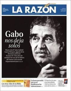 Gabo nos deja solos.