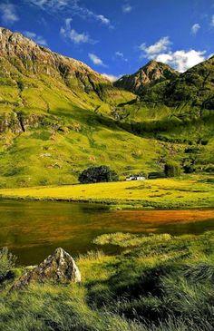 Loch Achtriochtan, Glencoe, Scotland