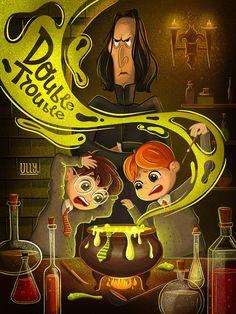 Harry Potter art on Behance Fanart Harry Potter, Harry Potter Tumblr, Magia Harry Potter, Classe Harry Potter, Arte Do Harry Potter, Harry Potter Artwork, Cute Harry Potter, Harry Potter Pictures, Harry Potter Drawings