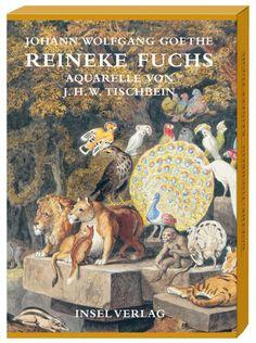 Reineke Fuchs met aquarellen van Tischbein