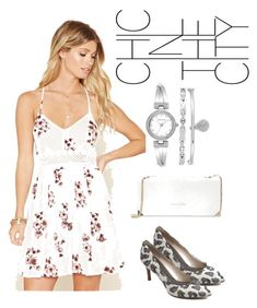 """""""CHIC"""" by masayuki4499 ❤ liked on Polyvore featuring Forever 21, Trina Turk and Anne Klein"""