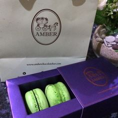 Macaroons from Amber