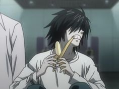 All Anime, Anime Guys, L Icon, L Death Note, Photo Recreation, L Lawliet, Shinigami, Cute Anime Pics, Cute Icons