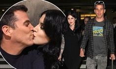 Kat Von D and Steve-O share a steamy kiss in Instagram snap