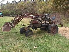 shaw tractor | Shaw R8 with Loader | Flickr - Photo Sharing!