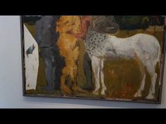 Markus Lüpertz New Paintings at MICHAEL WERNER - YouTube