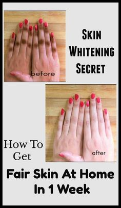 hair beauty - Skin Whitening Secret How to Get Fair Skin At Home in 1 Week Beauty Box, Beauty Tips For Skin, Beauty Care, Beauty Skin, Skin Care Tips, Beauty Hacks, Beauty Ideas, Diy Beauty, Face Beauty