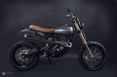 "Yamaha XT600 Scrambler ""Penelope"" by Kentauros #motorcycles #scrambler #motos | caferacerpasion.com"