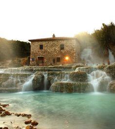 Un séjour au Terme di Saturnia en Italie