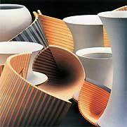Painting Ceramic Tile Floors in a Bathroom: Can You Do it? Ceramic Design, Ceramic Art, Painting Ceramic Tile Floor, Geometric Sculpture, Contemporary Ceramics, Stoneware, Pottery, Europe, Norte