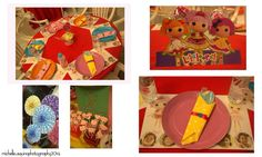 Lalaloopsy Designs for tables and party hats
