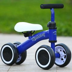Riding Toys for Kids Baby Balance Bike Get Balance Sense No Foot Pedal Baby Toddler years Child Tricycle Bike Outdoor Ride Kids Scooter, Scooter Girl, Scooter Storage, Custom Vespa, Tricycle Bike, Scooters For Sale, Play Vehicles, Balance Bike, 3rd Wheel