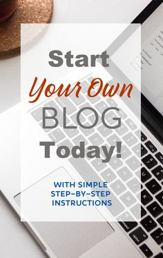 Thinking of starting your own blog? It's not as hard as you might think. Learn how to get started as soon as the next 30 minutes and be on your way to your own money making blog! #startablog #bloggingforbeginners #BlogSetup