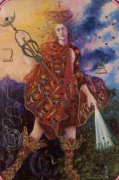 I. The Magician - Spiral Tarot by Kay Steventon
