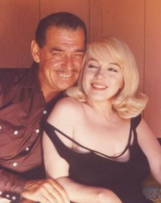 """I think she is something different to each man, blending somehow the things he seems to require most"" - Clark Gable on Marilyn Monroe."