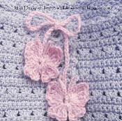Crochet Butterfly Free Tutorial - via @Craftsy