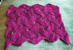 loopy knit and crochet stitch patterns - Bing Images