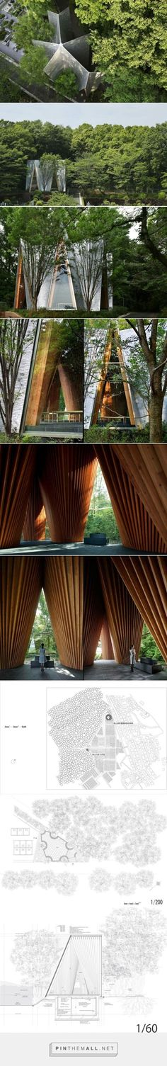 Sayama Forest Chapel / Hiroshi Nakamura & NAP ⋆ ArchEyes - created via…: