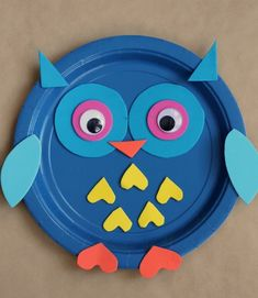 Paper Plates Crafts Ideas Paper Plate Animal Crafts For Kids Best Cool Craft Ideas Owl Crafts, Paper Plate Crafts, Animal Crafts, Paper Plates, Dinosaur Crafts, Crafts For Kids To Make, Kids Crafts, Easy Crafts, Craft Projects