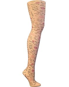 THIS IS BETSEY TIGHT NUDE accessories legwear tights fashion