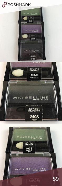 👁 stylish smokes eyeshadows New Maybelline Makeup Eyeshadow