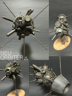 Junk plant »orbit spacecraft Noi Orbiter