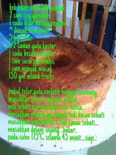 28 Best Resepi Local Images Desserts Cake Recipes Resep Cake
