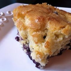 """My Baton Rouge Mommy: What for Breakfast? """"Buttermilk Blueberry Cake"""""""