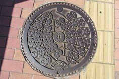 Manhole cover, Akita City #akita #japan