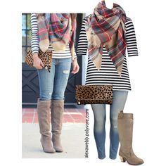 """""""Straight Size to Plus Size: Blanket Scarf"""" by alexawebb on Polyvore"""