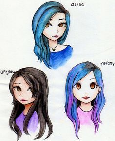 APHMAU, TIFFANY, ALESA by Neonnyagic on DeviantArt