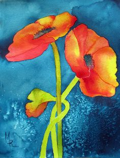 Poppies by The Fickle Fish, via Flickr