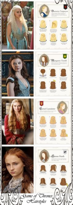 4. 5 Game of Thrones Hairstyles - Fuel Your Braid Obsession - Game of Thrones Inspired Hairstyles ... → Hair