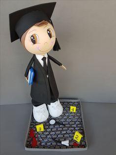 Despedimos la semana con esta fofucha de graduado criminólogo en pleno escenario del crimen!!! www.elracodelpeluix.com