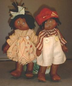 Cloth Doll Patterns by Jacque Uetz.   Eliza & Willie patterns for sale